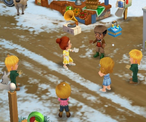 Dance Lessons - FarmVille 2