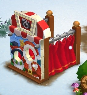 Holiday Photo Booth - FarmVille 2