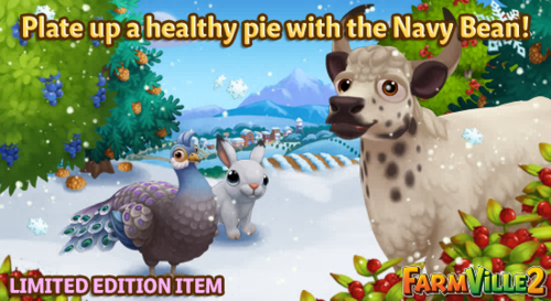Plate up a healthy pie with the Navy Bean LE - FarmVille 2