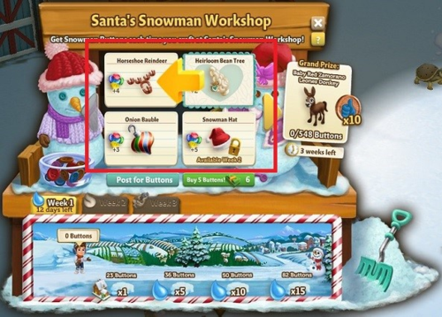 Santa's Snowman Workshop - FarmVille 2