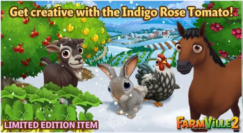 Get creative with the Indigo Rose Tomato LE - FarmVille 2