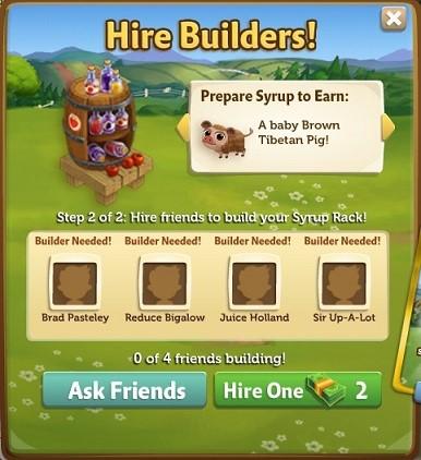 Syrup Rack - FarmVille 2