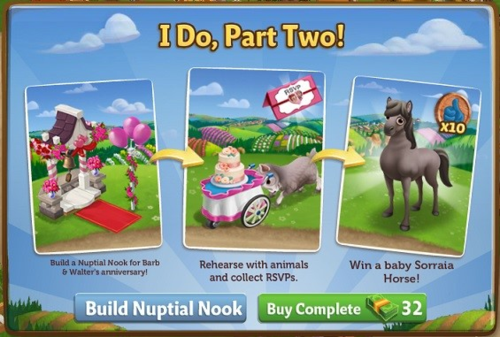 I Do, Part Two - FarmVille 2