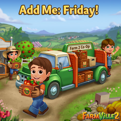 Coop Friday - FarmVille 2