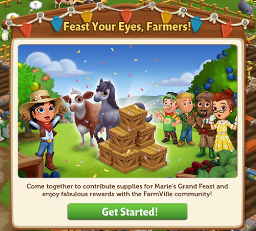 Marie's Grand Feast - FarmVille 2