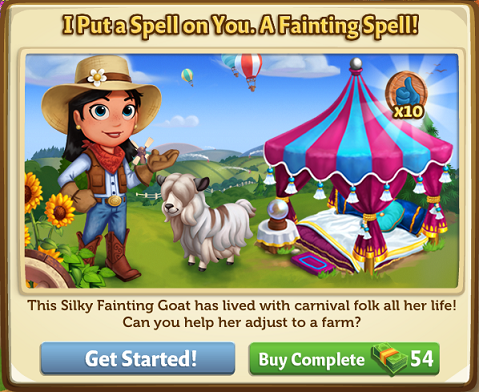 I Put a Spell on You. A Fainting Spell! - FarmVille 2
