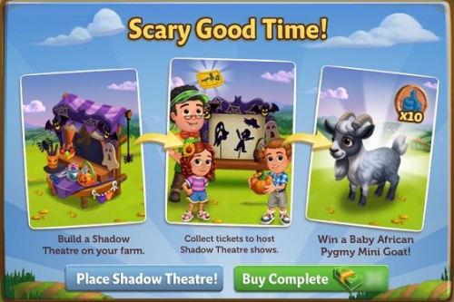 The Shadow Theatre - FarmVille 2