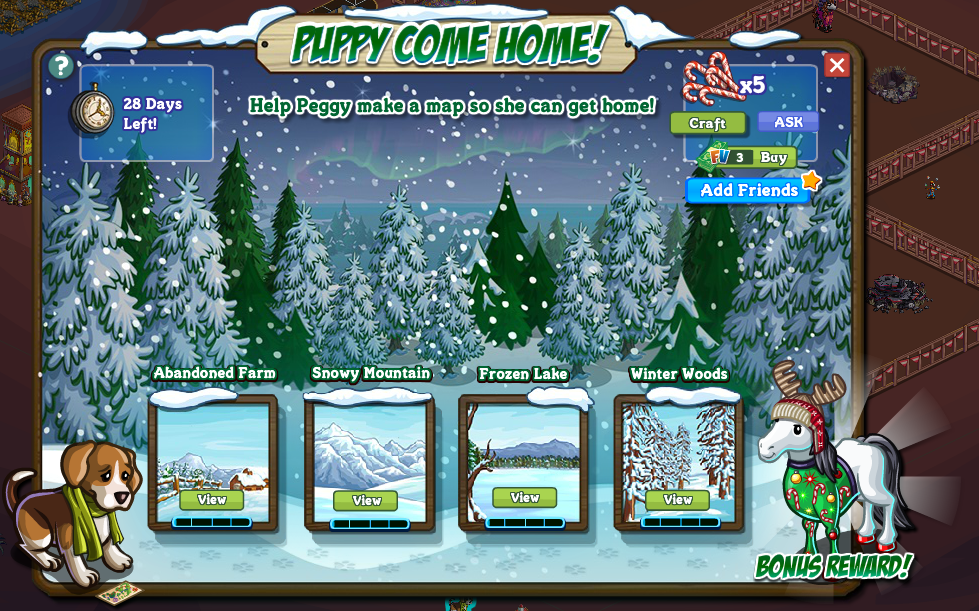 Official Guide: Walkthrough: Peggy the Pup - FarmVille