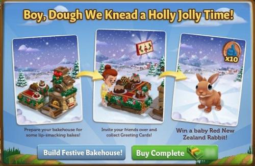 Festive Bakehouse - FarmVille 2