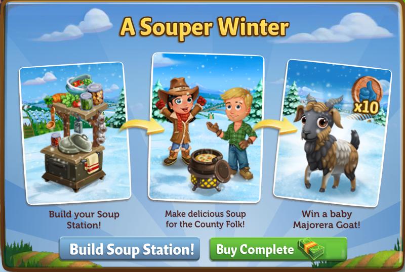 A SOUPER WINTER - FarmVille 2