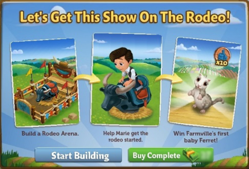 Rodeo Arena! - FarmVille 2