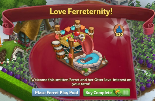 Ferret Play Pool  - FarmVille 2