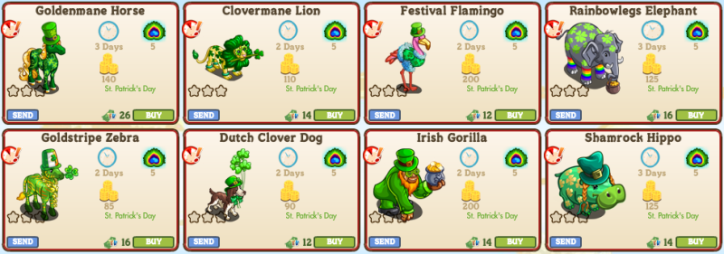 St Patrick S Day Animals 1