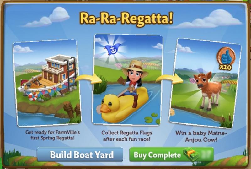Ra-Ra-Regatta!  - FarmVille 2