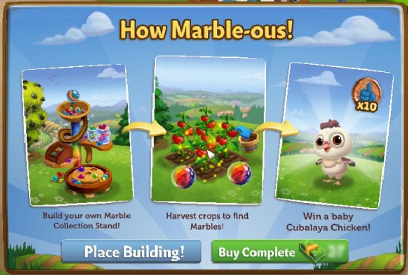 How Marble-ous! - FarmVille 2