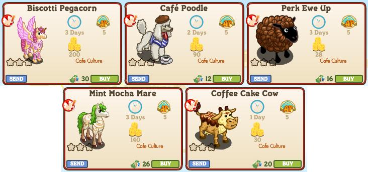 5 Animals