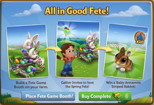 All in Good Fete! - FarmVille 2