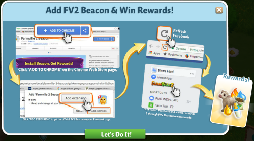 FarmVille2 Beacon and win exciting rewards!