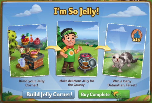 I'm So Jelly! - FarmVille 2