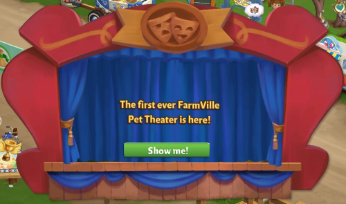 Pet Theater - FarmVille 2