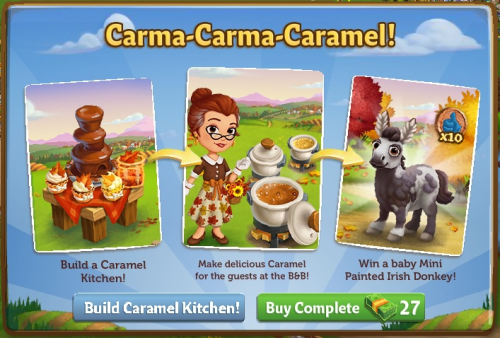 "FarmVille2: ""Build Your Caramel Kitchen!"" (Official Guide)"