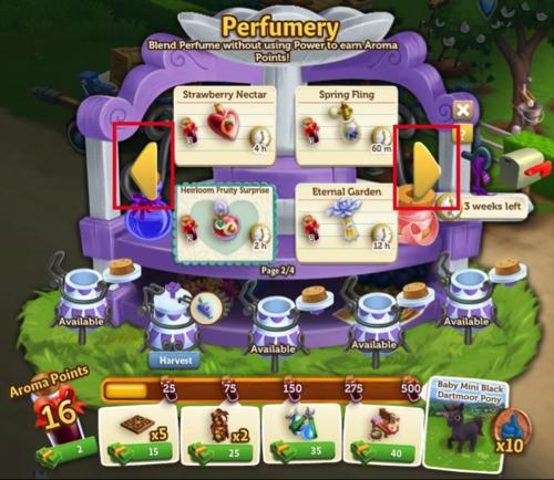 Perfumery - FarmVille 2