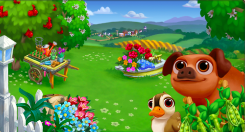 Pretty up your river with the Flowering Rush LE - FarmVille 2