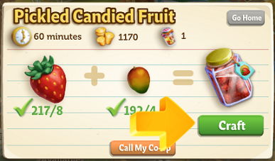 Pickling Corner - FarmVille 2