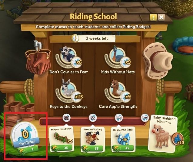 Riding School 7