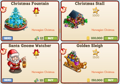 Farmville Limited Edition Christmas Decorations 2020 Official Guide: Walkthrough: New Limited Edition Items ( Norwegian