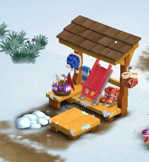 Winter Gala Shack - FarmVille 2