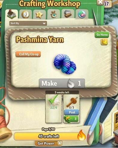 Knitting Machine - FarmVille 2