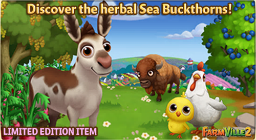 Discover the Herbal Sea Buckthorns LE - FarmVille 2