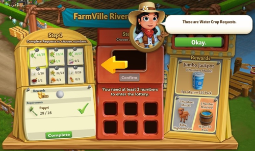 FarmVille Riverside Lottery - FarmVille 2