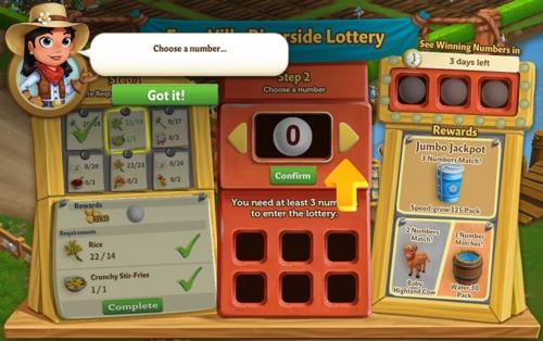 FarmVille Riverside Lottery - FarmVille 2
