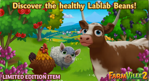 Discover the healthy Lablab Beans LE - FarmVille 2