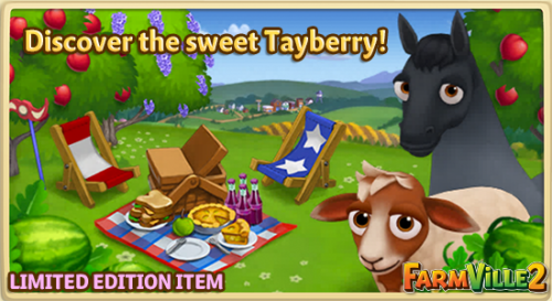 Discover the sweet Tayberry LE - FarmVille 2