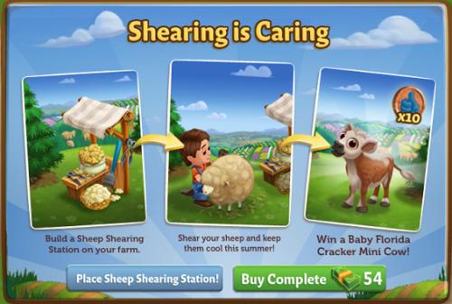 Tosatura è Caring - FarmVille 2