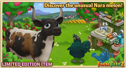 Discover the unusual Nara melon - FarmVille 2