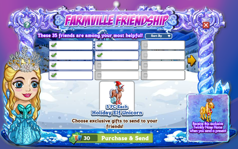 Once Upon a Winter - FarmVille Friendship Gifting Event 3