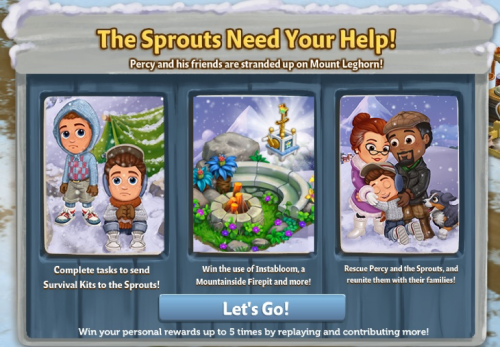 The Sprouts Need Your Help - FarmVille 2