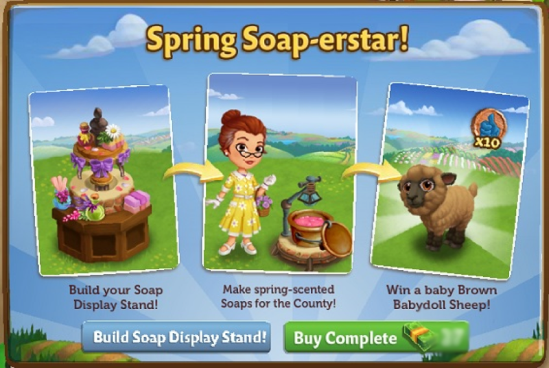 The Soap Display Stand - FarmVille 2