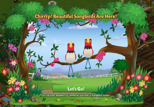The Spectacular Songbirds! - FarmVille 2
