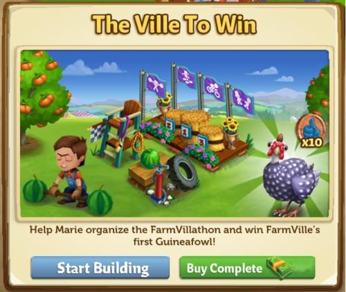 The Ville To Win - FarmVille 2