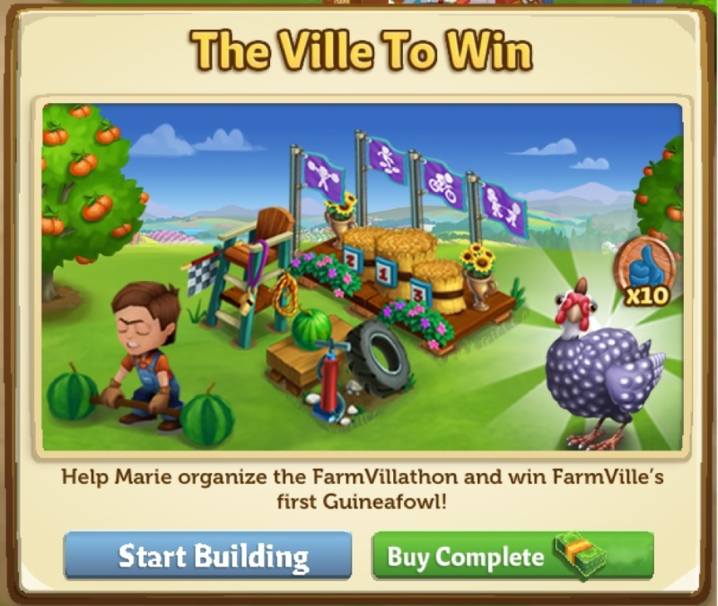 The Ville To Win - FarmVille 2