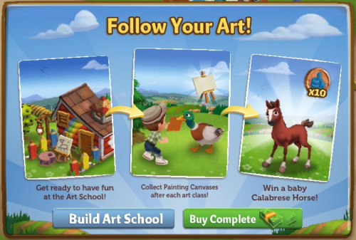 Follow Your Art - FarmVille 2