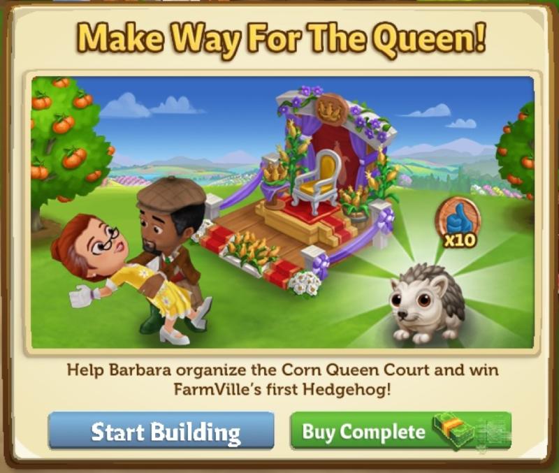 Make Way For The Queen - FarmVille 2