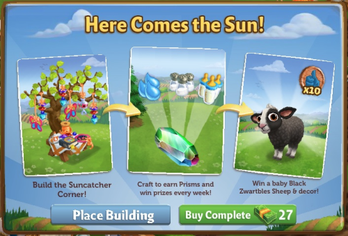 Here Comes the Sun - FarmVille 2