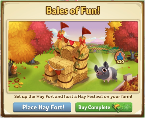 Hay Festival - FarmVille 2