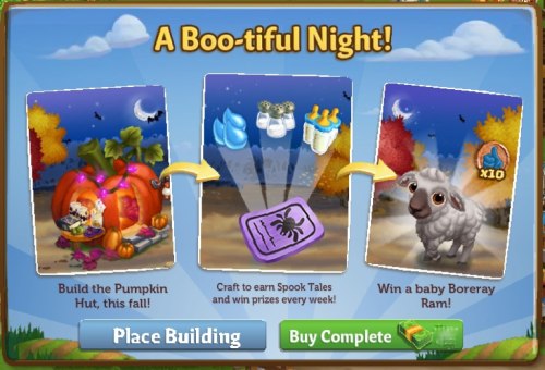 A Boo-tiful Night - FarmVille 2